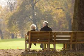 old ouple bench